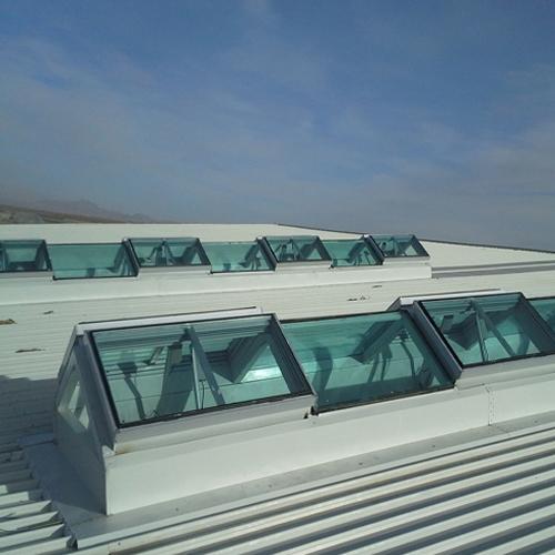 电动群控排烟天窗