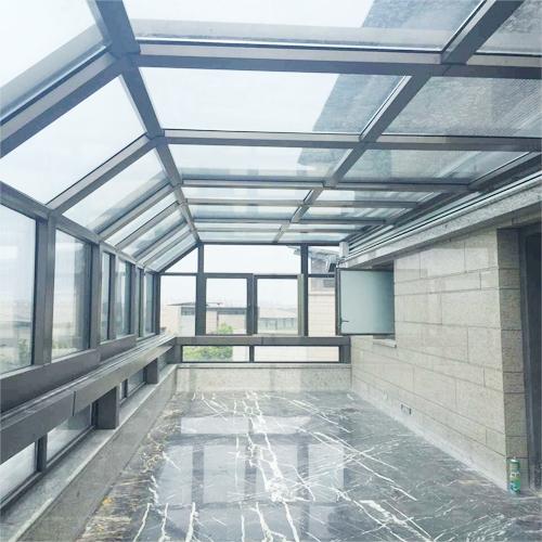 阳台折叠移动阳光房
