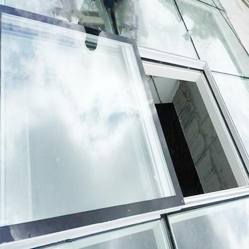 中型对开电动平移天窗